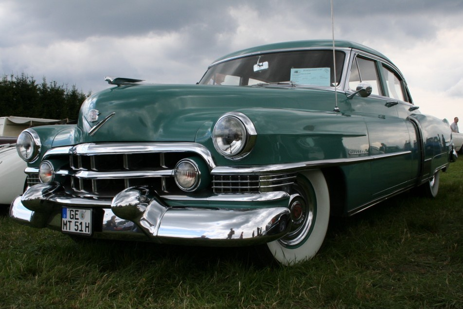 mein oldtimer: 1951er cadillac fleetwood sixty special | manfred